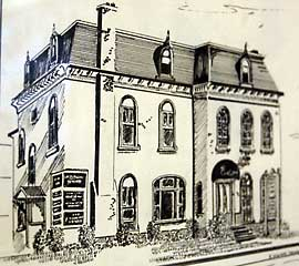 Owen Sound Physiotherapy Clinic Sketch